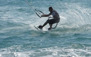 sciare con kitesurf in calabria