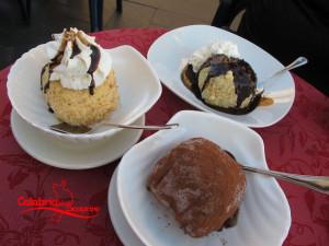 mangiare in calabria tartufo gelato