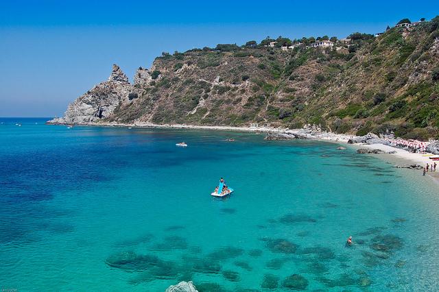 le spiagge più belle della calabria capo vaticano