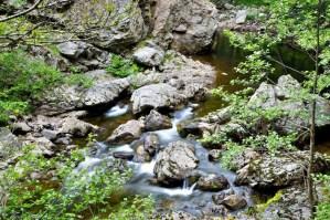 cascate del Maesano dettaglio