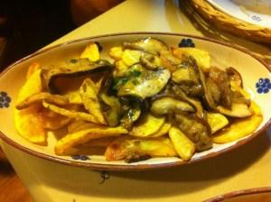 cucina tipica calabrese pipi e patati