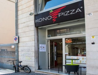 Pausa pranzo al Konopizza a Cosenza, street food in Calabria