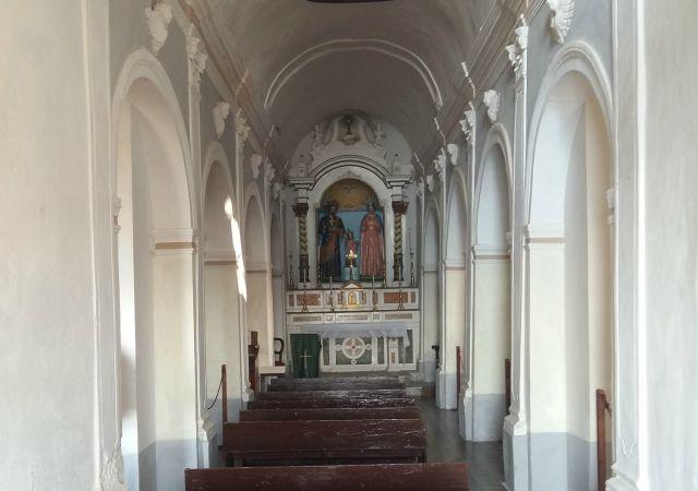 navata chiesa santa maria dell'isola