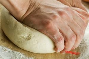 pane calabrese fatto in casa impasto
