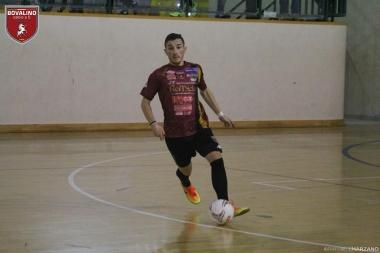 MATCH WINNER. Manuel Patamia, doppietta con gol vittoria fondamentale per la sua squadra