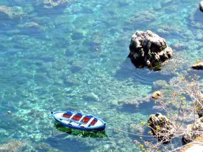 Calabria coastline