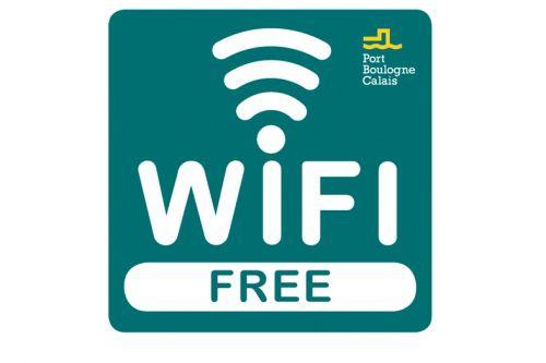free wi fi at calais ferry terminal