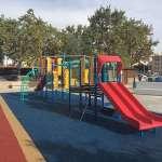 Finalitzen amb èxit les obres de rehabilitació del parc infantil de la plaça Mallorca de Cala Millor