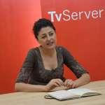 Natalia Troya oferir unes declaracions a Tv Serverina i CM7 després de la seva renúncia a la batlia