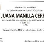 Juana Manilla Cerro