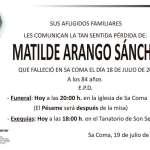 Matilde Arango Sánchez