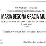 Maria Begoña Gracia Muñoz