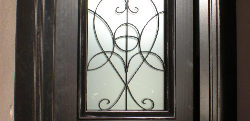 Porta vetro artigianato