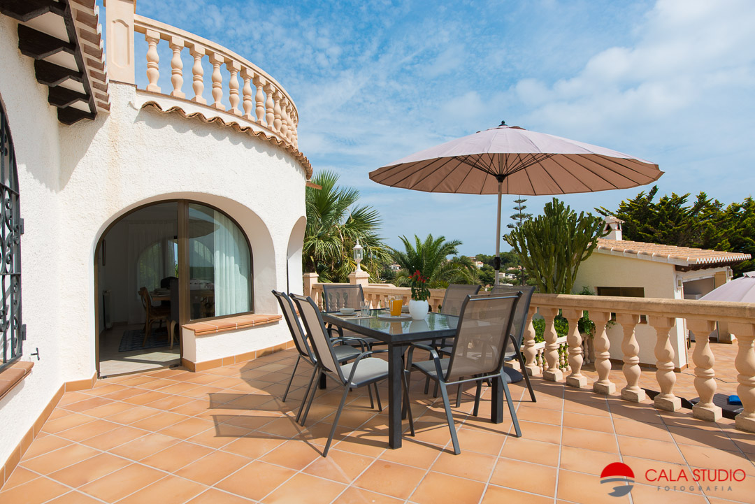 Javea holiday lettings property photographer costa blanca