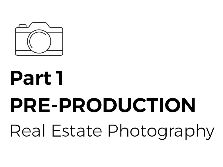pre production real estate photography