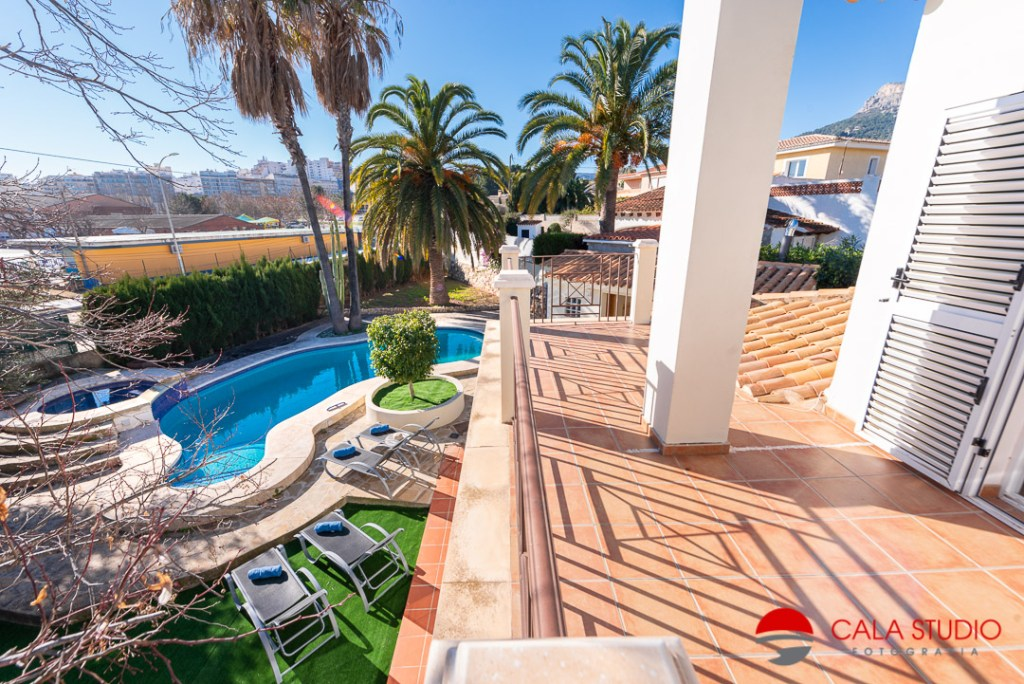 Villa Calpe Holiday Rental Photographer