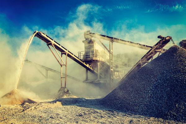 Mining Conveyor In Quarry