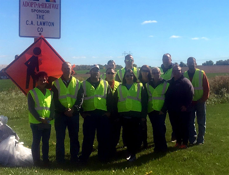 Adopt A Highway Team Photo