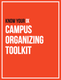 Know Your IX Campus Organizing Toolkit