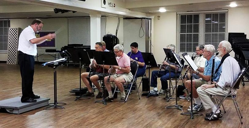 Clarinet Sectional Rehearsal