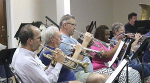 Trumpets Practicing