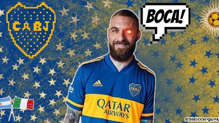 De Rossi: Sarò l'allenatore del Boca. Sì o Sì.