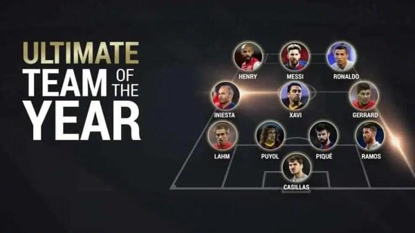 Uefa, la migliore top 11 di sempre: Cristiano Ronaldo e Messi dominano anche qui