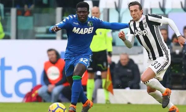 Juventus-Sassuolo, i convocati di De Zerbi: tornano Marlon e Magnanelli, out Peluso