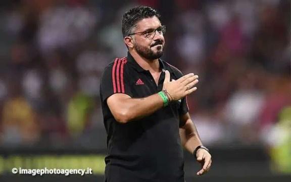 """Milan-Sampdoria, Gattuso: """"Merito dei ragazzi. Calhanoglu? Gli ho dato un pugno…"""""""