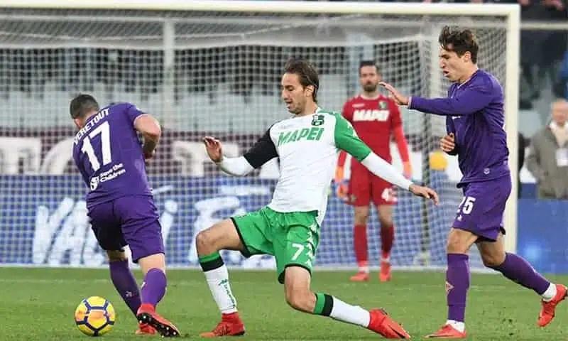 Sassuolo-Fiorentina 1-0, Politano decide il match del Mapei Stadium