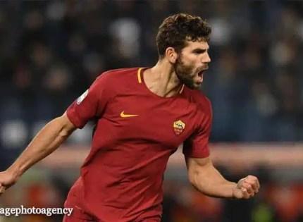 esultanza-gol-Federico-Fazio-Roma-Benevento