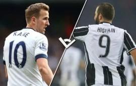 Verso Juventus-Tottenham: Higuain contro Kane, bomber a confronto
