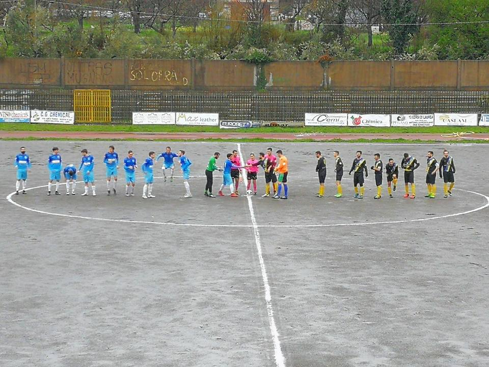 SOLOFRA-AGROPOLI 1-1, HIGHLIGHTS E INTERVISTE - (VIDEO)