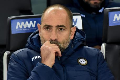 Udinese's coach Igor Tudor shows his dejection  during the italian Serie A soccer match Udinese Calcio vs AS Roma at the Friuli-Dacia Arena stadium in Udine, Italy, 30 October 2019 ANSA/FRANCO DEBERNARDI
