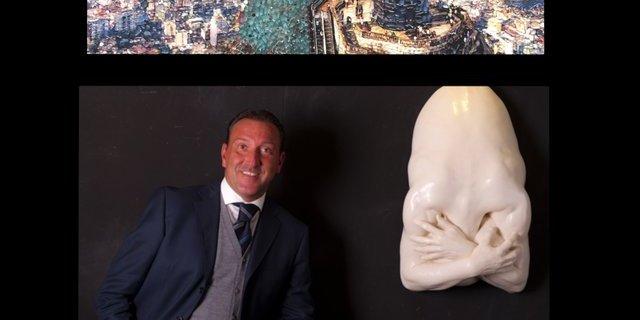 Calcio ed arte: il gol dell'ex arbitro Mario Mazzoleni