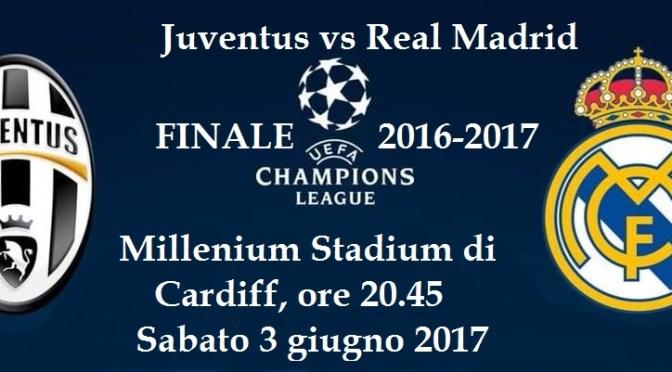 Champions League: domani sera la finale Juve-Real