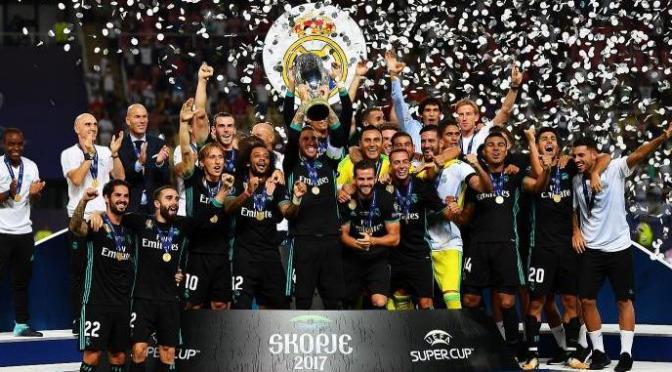 Supercoppa Europea: a Skopje trionfa il Real Madrid