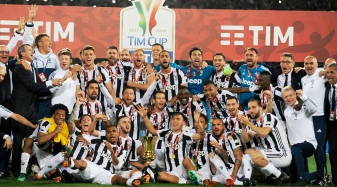 Coppa Italia: la Juventus serve il poker demolendo il Milan
