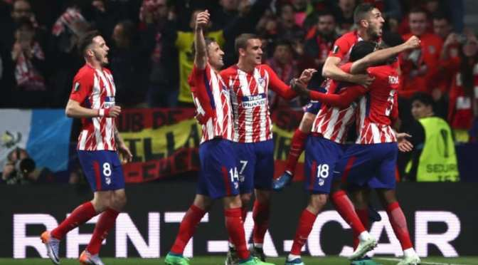 Europa League: Atletico Madrid a forza tre