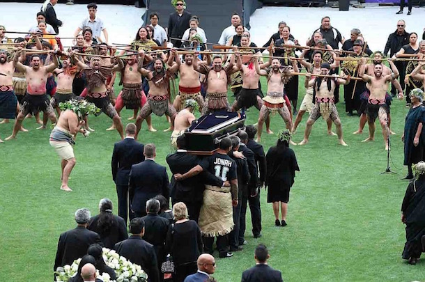 funerale Siona Tali Lomu
