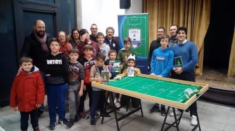 Scuola Calciotavolo subbuteo GS Alberino