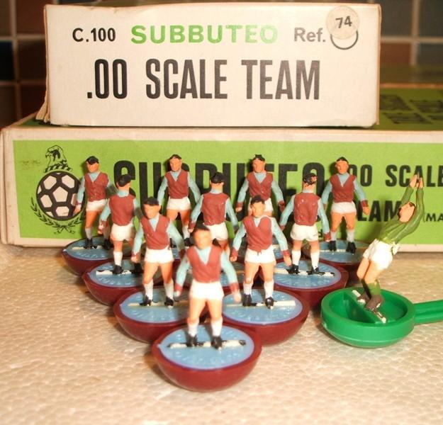 Aston Villa Subbuteo