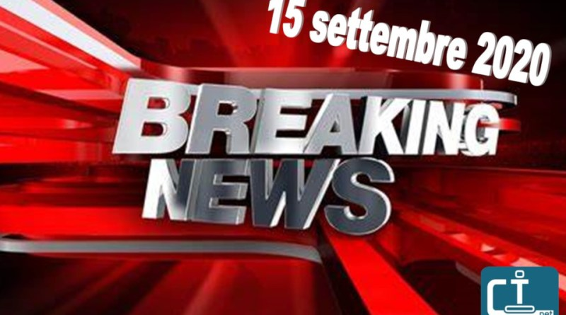 Breaking news subbuteo 15 settembre
