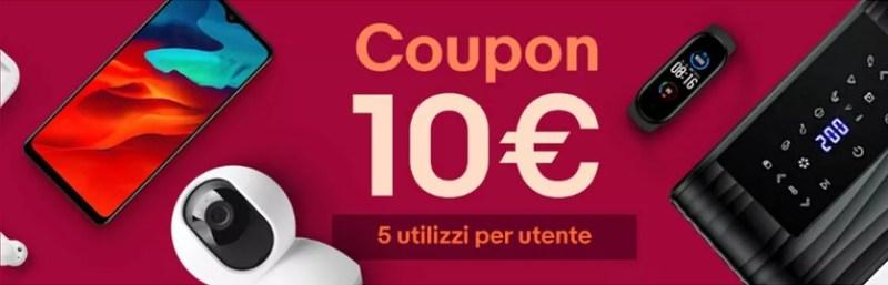 Coupon 10€ ebay