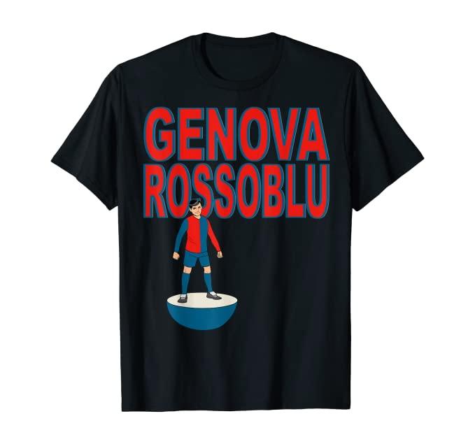 tshirt subbuteo genova rossoblu