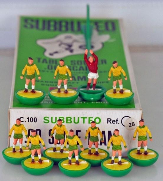 ref 28 HW Norwich City subbuteo