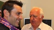 Mario Ciuffi con Montella