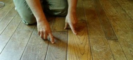 Reparar suelo parquet