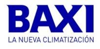 Baxi Modelo Anori LSG25 Logo Baxi