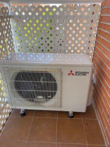 aire acondicionado en Seseña Exterior